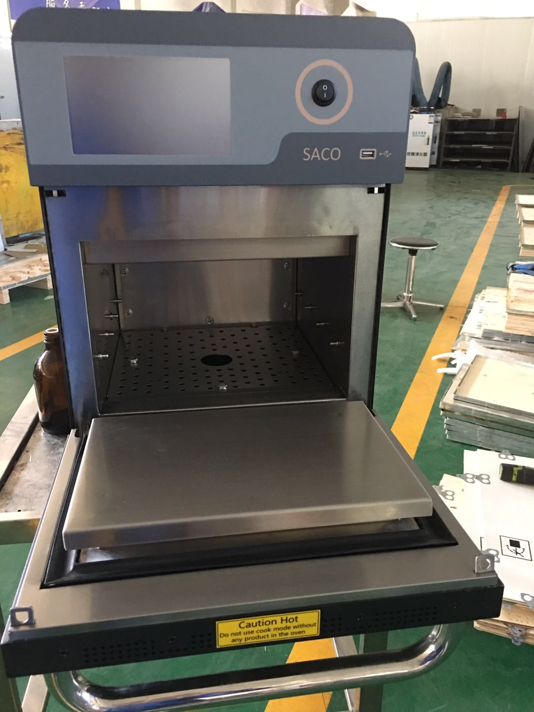 high speed accelerated cooking countertop oven